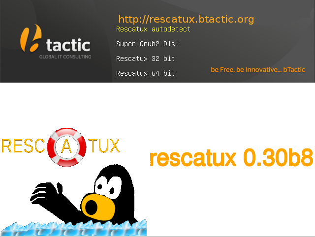 Rescatux un CD Live de Linux para Reparaciones en Windows
