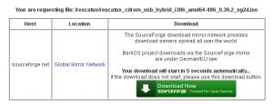 Download Countdown for Rescatux screenshot