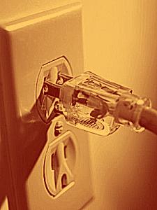 Wall Plug AC Mains photo