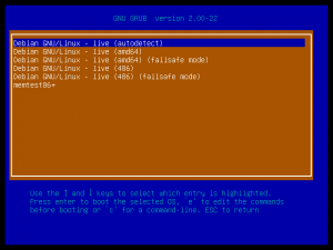 Rescatux new loopback cfg entry as seen from Choose Bootable ISOs option from Super Grub2 Disk