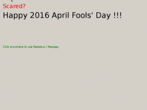 Rescatux 2016 April Fools Day - Screen 2
