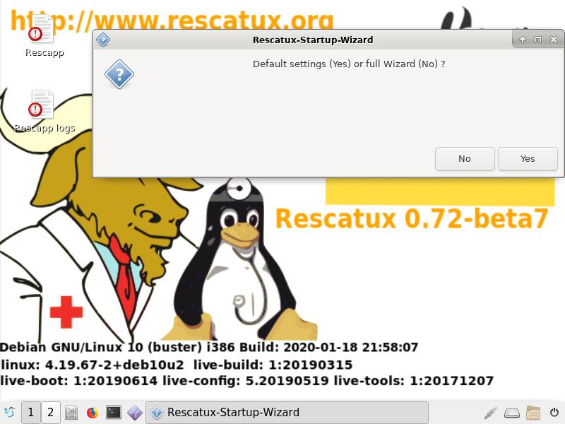 Rescatux Beta